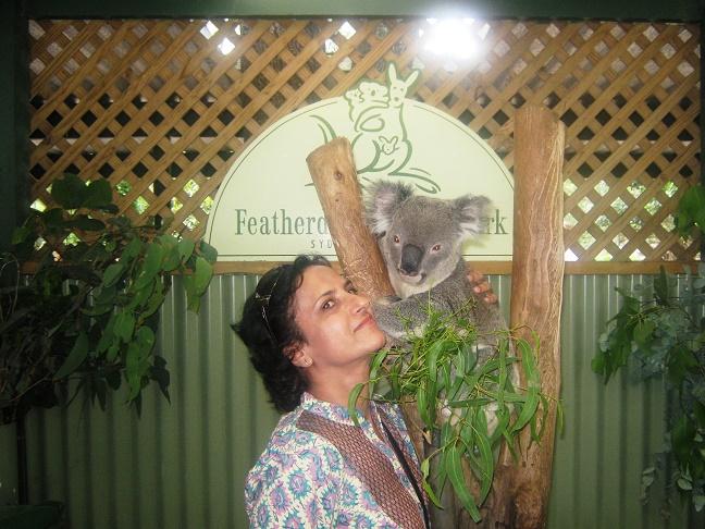 Me with Koala, Sydney, Australia