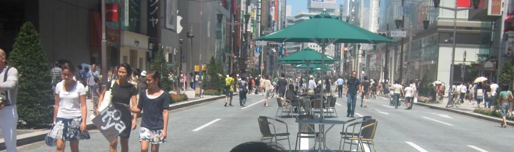 Pedestrians' Paradise, Ginza, Tokyo