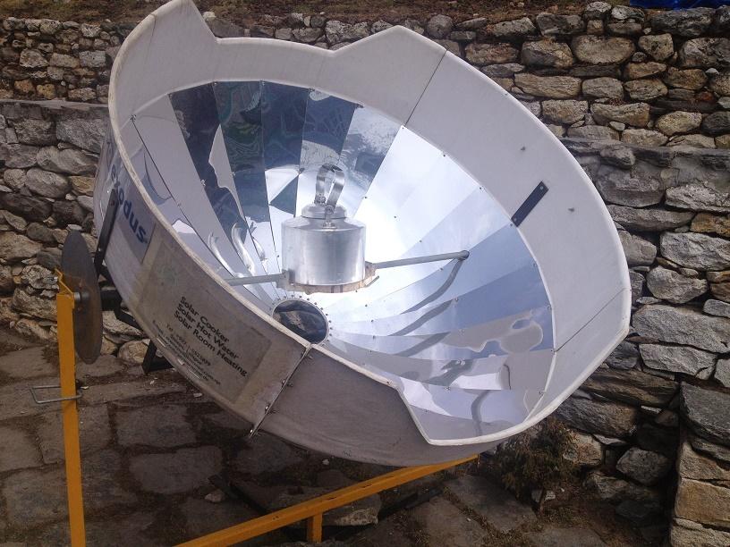Solar installation Dengboche