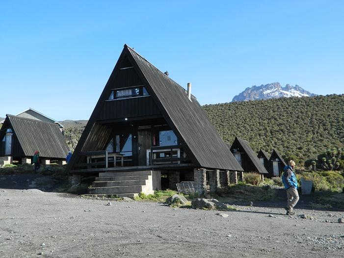 Horombo Hut campsite