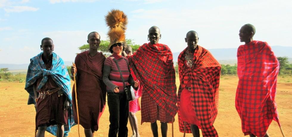 Enormous Masai Mara-Reveling with Masai