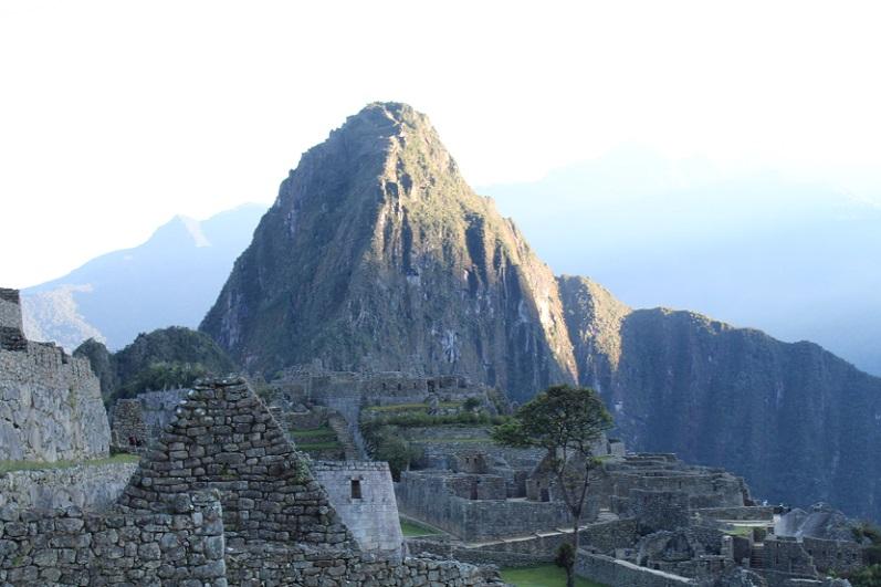 Sunrise view of Machu Picchu