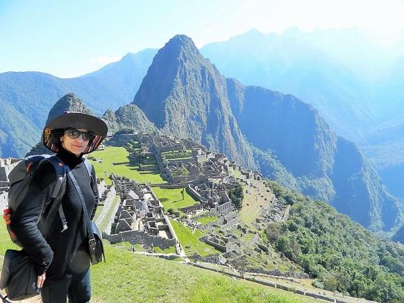 Gazing At Machu Picchu Ruins